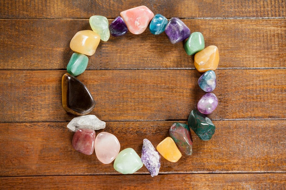 năng lượng chữa lành của đá tự nhiên